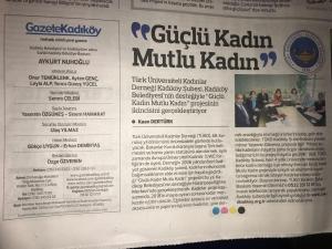 Gazete Kadıköy 'de konu ile ilgili haberimiz
